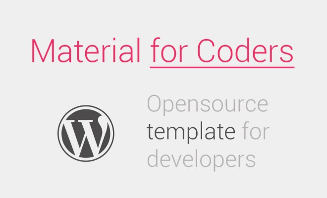 Material for Coders